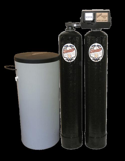 Puritan Twin Tank Water Softener with Tank