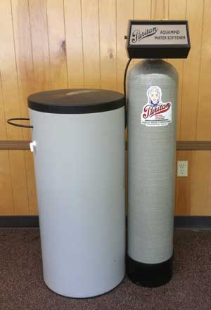 Water Softener with Tank