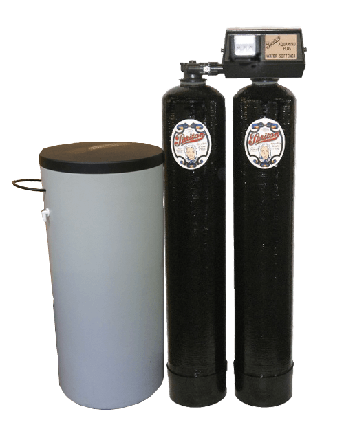 Puritan Twin Tank Water Softener with Tank