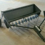 Grass seeder - towable